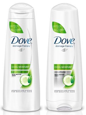 I searched long and hard for good shampoo and conditioner. Dove is the best I've found so far!