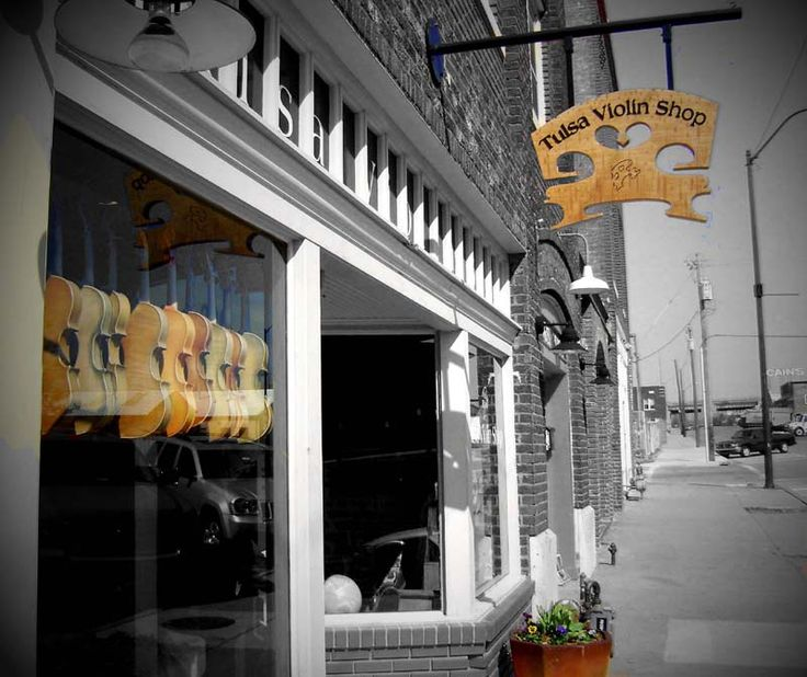 Violin Shop - Tulsa, Oklahoma