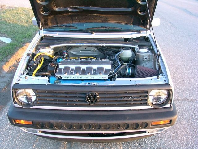 Northstar V8 in Golf II