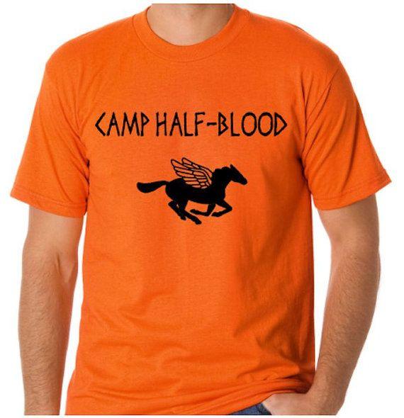 Camp Half Blood Shirt Cosplay Shirt - Sizes 2T - Adult 3XL (including Ladies) - Percy Jackson - Greek Mythology