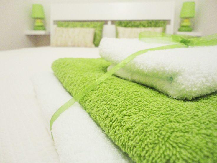 Green Apartment - Bedroom