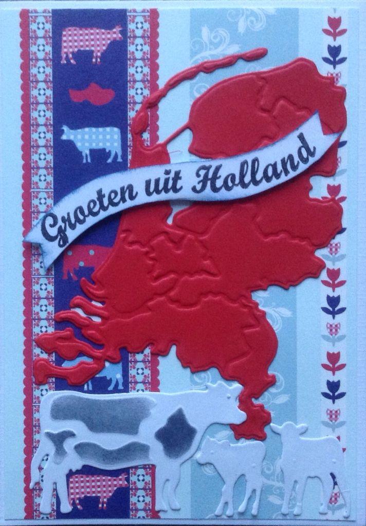 Groeten uit Holland met koeien en tulpen naar Rusland