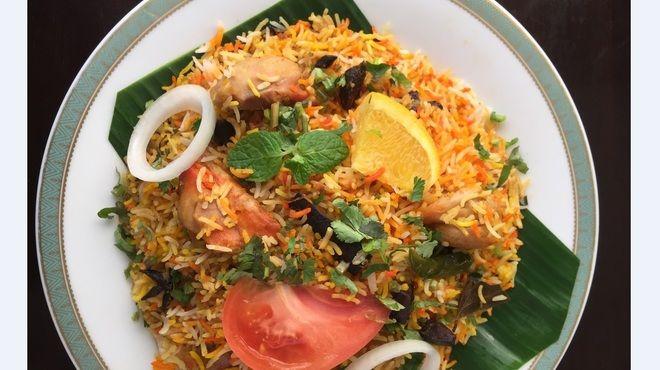 ハリマ ケバブ ビリヤニ (Halima kebab biryani