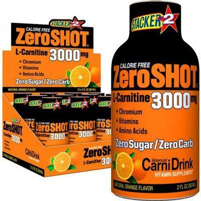 Stacker2 Zero Shot 3000mg 60ml 12 Adet