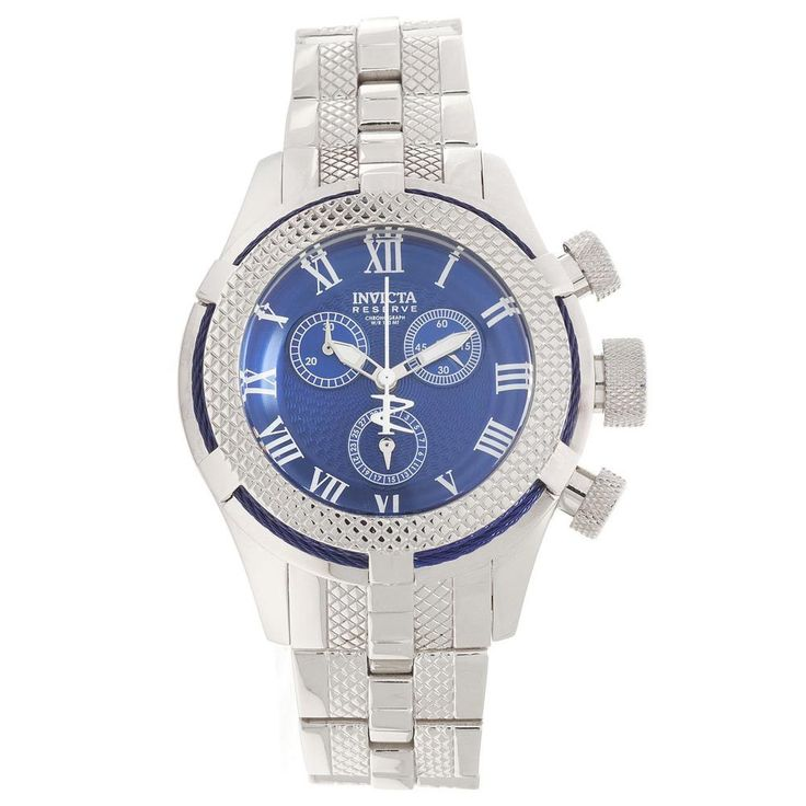 Invicta 17155 Women's Bolt Sport Gen III Chronograph Blue Dial Stainless Steel Watch