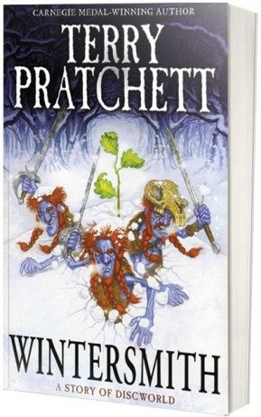 Wintersmith by Terry Pratchett - I absolutely adore this book. Tiffany is my favorite character!