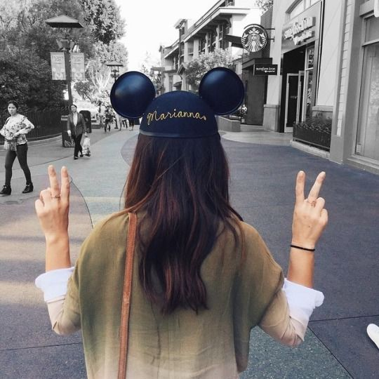 Photo idea while at Disney parks.