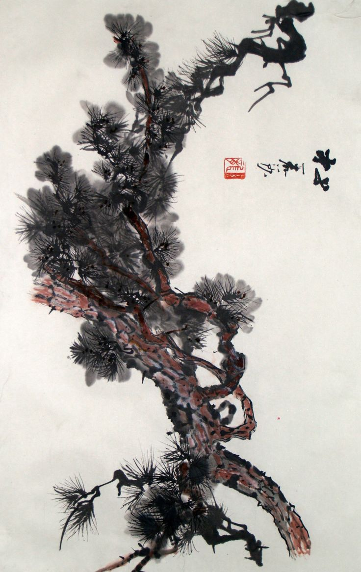 51 best Sumi-e: Trees ...