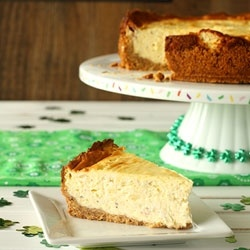 Irish Cheese and Bacon Cheesecake by chocolatemoosey