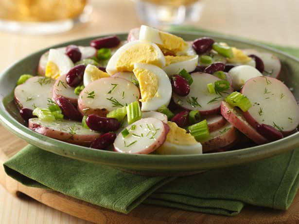 Potato Salad with Green Beans and Ricotta Images - Frompo