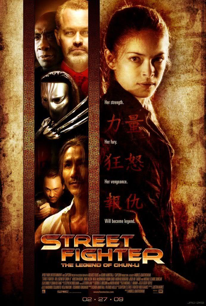 Street Fighter The Legend Of Chun Li Filmes Shows