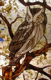 stained glass owl - Google Search