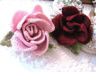 crochet pattern - english rose