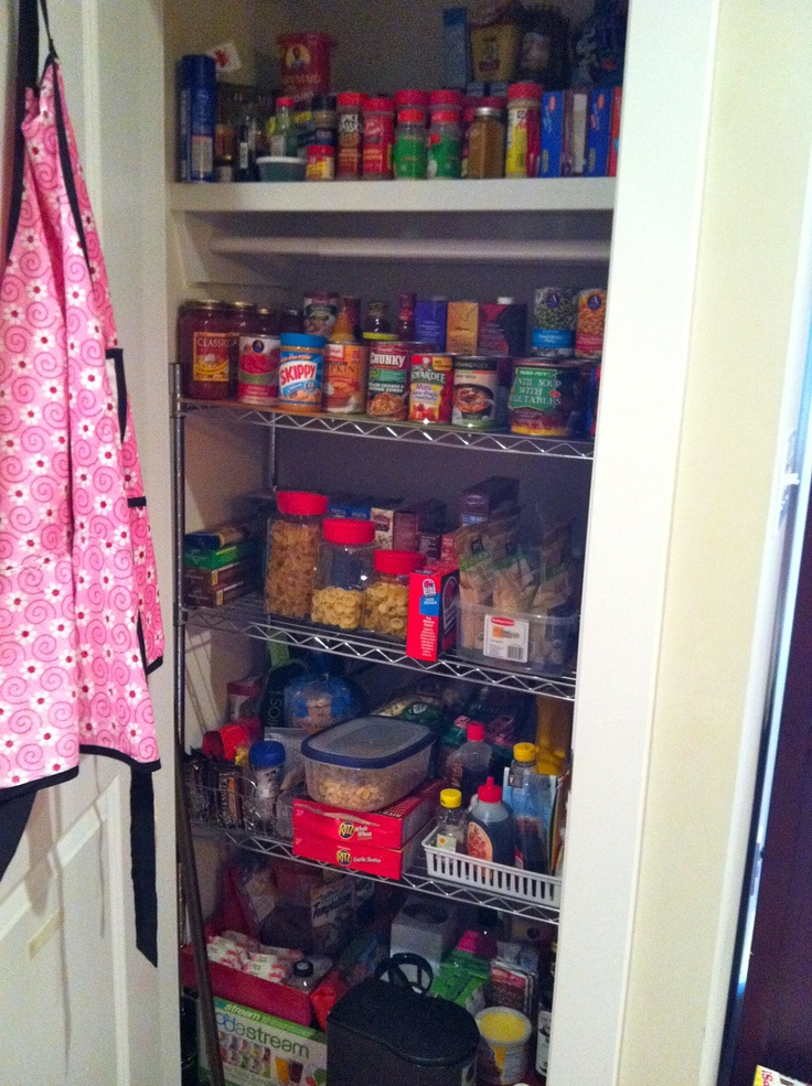 turn an unwanted coat closet into a much needed pantry ...