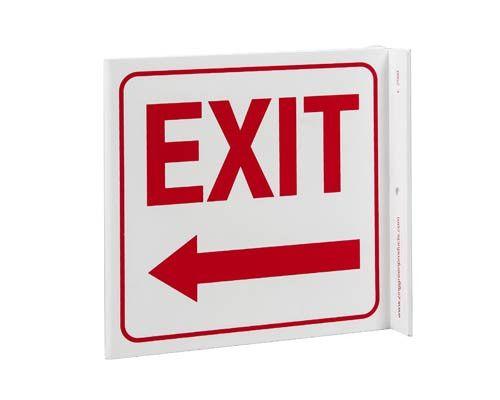 Exit Left Arrow L
