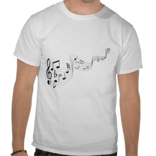 Musical Note Men's Tees