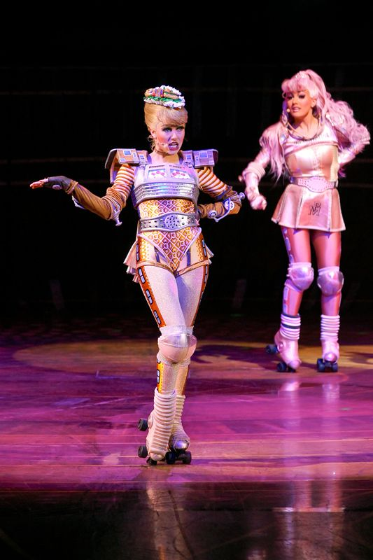 Starlight Express Stage