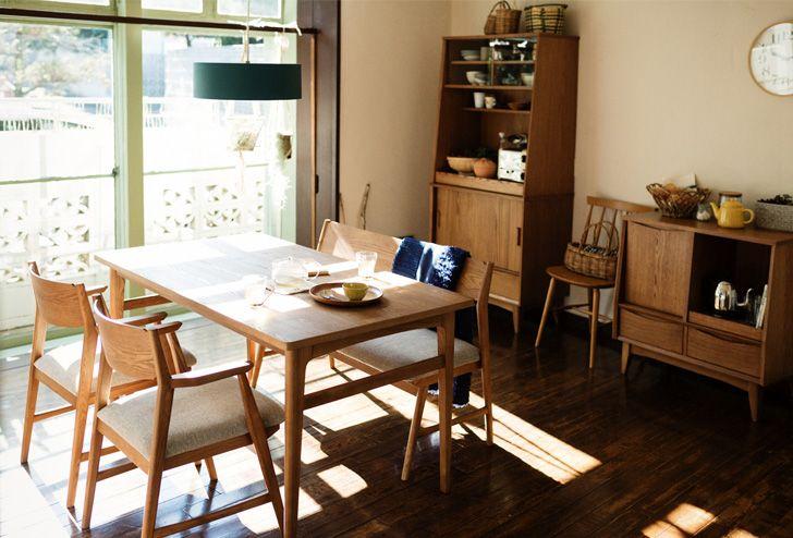 SIGNE(シグネ) ダイニングテーブル W1400 ブラウン | ≪unico≫オンラインショップ:家具/インテリア/ソファ/ラグ等の販売。