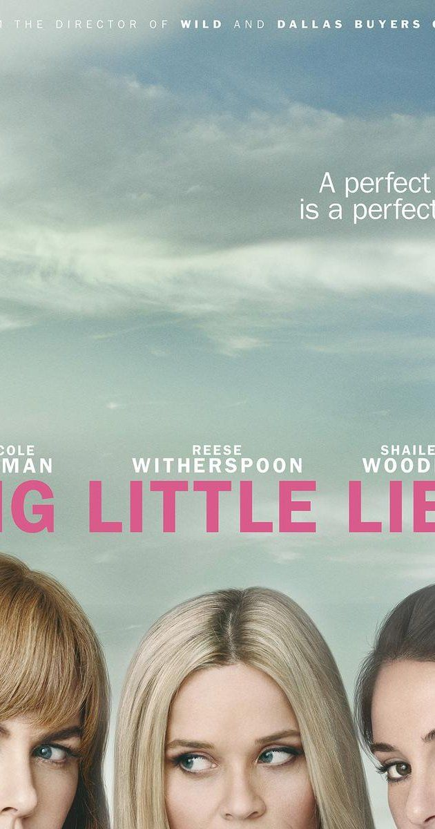 Created by David E. Kelley.  With Reese Witherspoon, Nicole Kidman, Shailene Woodley, Alexander Skarsgård. The apparently perfect lives of three mothers of first graders unravel to the point of murder.