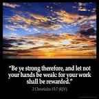 2 chronicles 15 7 - Google Search