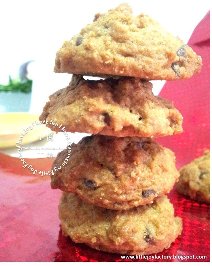 Little Joy Factory: Copycat Famous Amos Cookies, CNY (Chinese New Year)山寨版 Famous Amos 曲奇, 春节