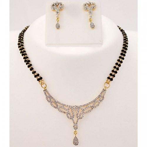 Elegant Mangalsutra Necklace Set
