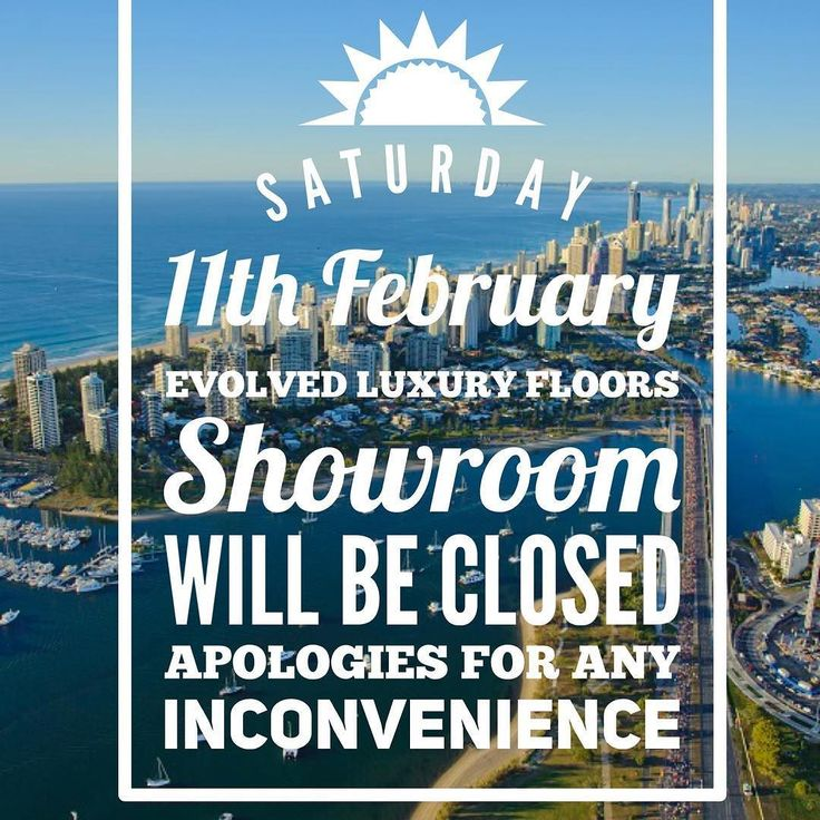 On Saturday the 11th of February 2017 - our Evolved Luxury Floors Showroom will be CLOSED  Our team is participating in a charity event organised by #carbuzzzn for the charity  @_livin_dl  If you would like to know more go to @carbuzzzn or carbuzzzn.com.au  Apologies for any inconvenience. We are open as normal Monday - Friday 9AM to 5 PM.  #evolvedluxuryfloors #goldcoast #charityevent #broadwaterparklands #freeevent #goldcoastevent #goldcoastcity