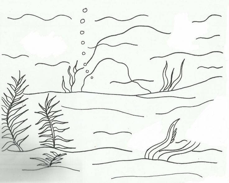 ocean backround coloring pages - photo #43