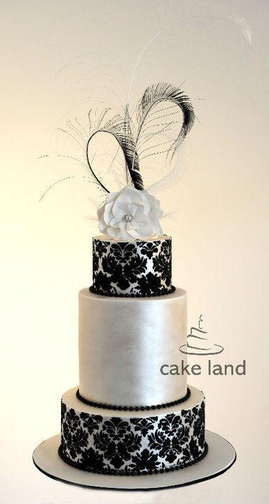231 best Damask Cakes images on Pinterest | Damask cake, Cake ...