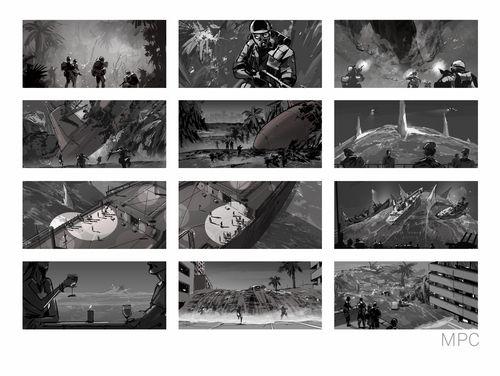 Best Storyboards Images On   Scripts Color Script