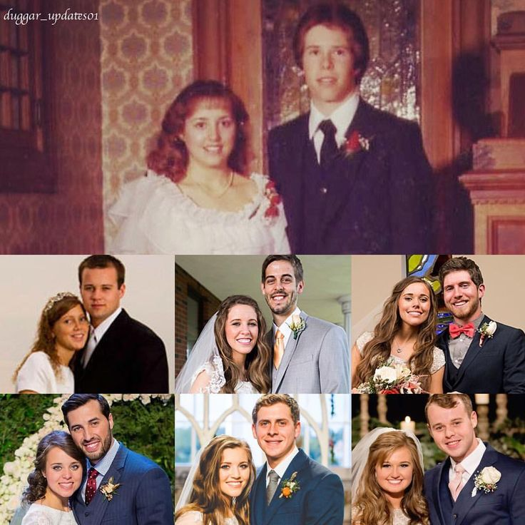 All the Duggar Weddings! 🤵🏻👰🏻💍💘 #duggarfamily #JoshandAnna #JillandDerick #JessaandBen #JingerandJeremy #JoyandAustin #JoeandKendra