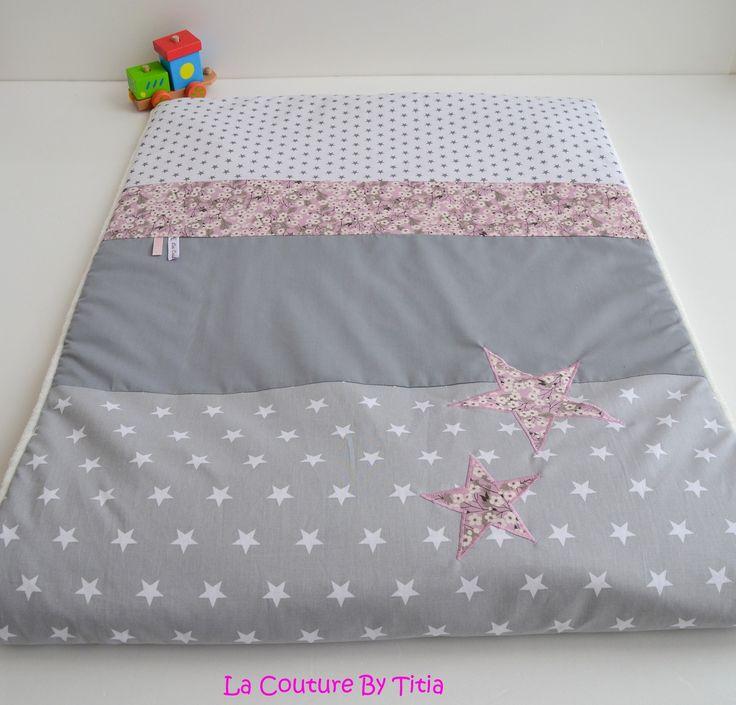 17 meilleures id es propos de couverture b b tricot sur pinterest couverture b b - Decoration chambre bebe fait main ...