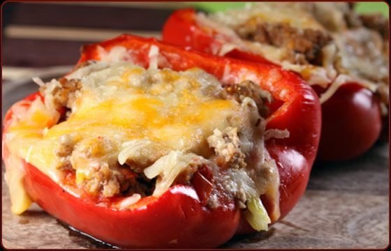 Traeger Recipe for Southwestern Stuffed Peppers
