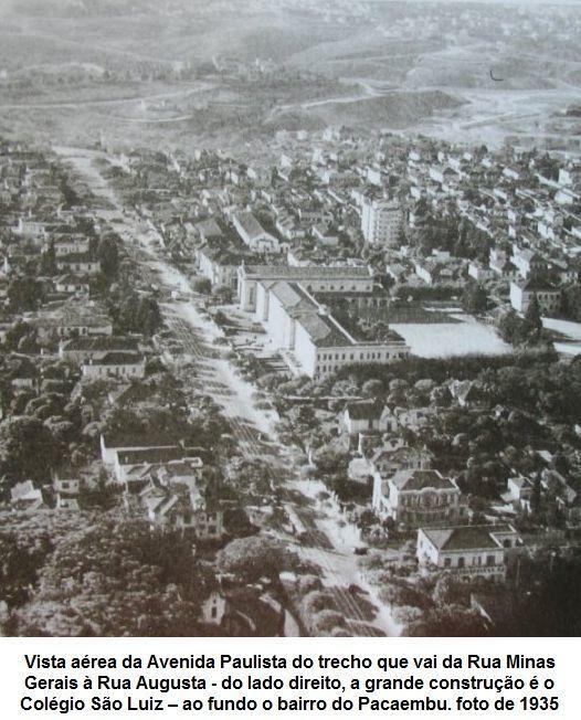 Mansões na Av Paulista de 1891 até os dias de hoje