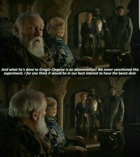 #got Pycelle the biggest shit talker!