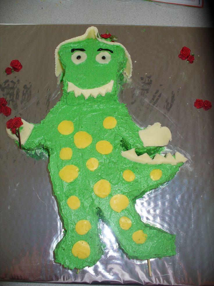 Dorothy Dinosaur cake