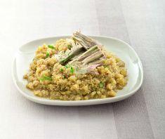 Quinoa a risotto con carciofi allo zafferano - Tutte le ricette dalla A alla Z - Cucina Naturale - Ricette, Menu, Diete
