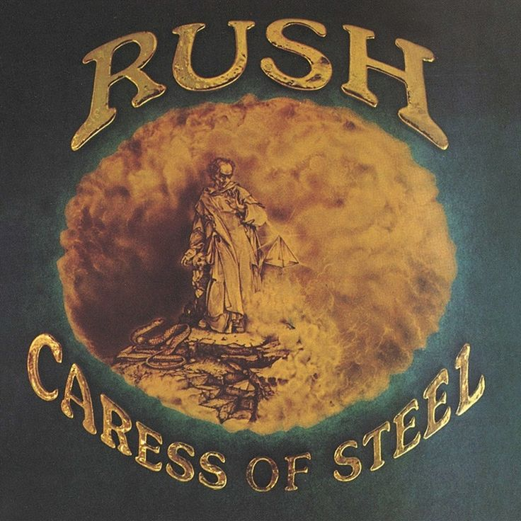 Rush - Caress Of Steel 200g LP + Download
