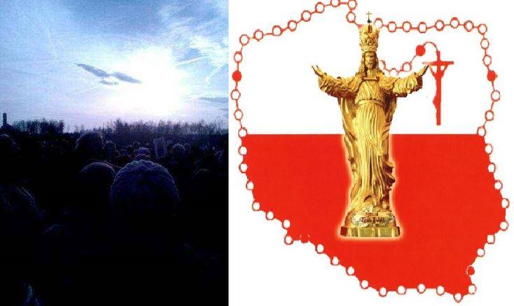 Byłeś w Łagiewnikach 19.11.2016? Zobacz Gołębicę na niebie podczas intronizacji Jezusa Króla Polski w Krakowie. Naród żydowski będzie się nawracać. Dziś Mikołaj i Jezus ma dla ciebie prezent Jemu zaufaj.