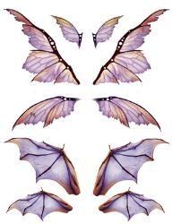Готический Крылья, Крылья Летучей Мыши