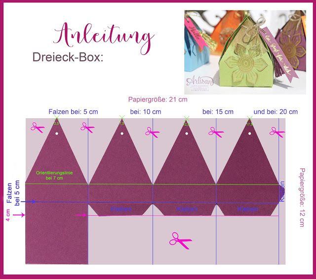 Orientalische Boxen -  Verpackungen mit Stampin Up Orientpalast