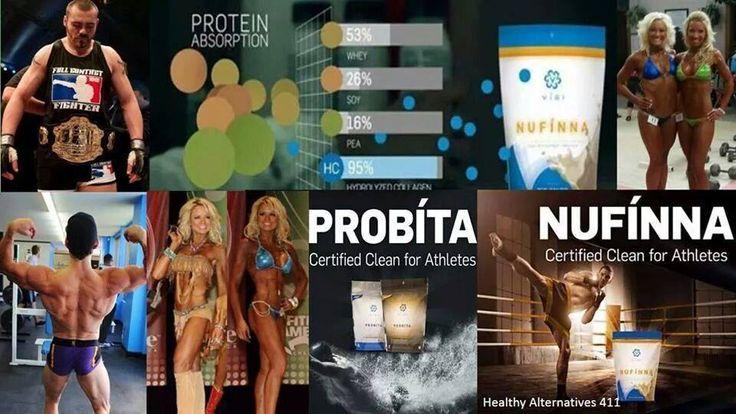 Probita Collagen Protein Chews and Nufinna Smoothie