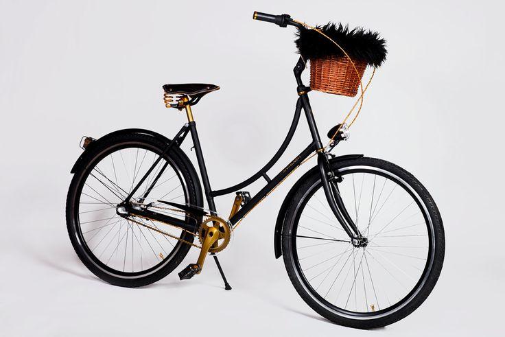 City Bike Moonlight Gold Label by BikesBazaar on Etsy