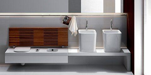 Collections - Produzione sanitari di design in ceramica, arredo bagno e accessori - Hatria Srl
