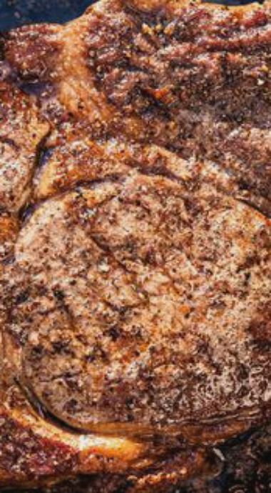Steak au Poivre (Peppercorn Steak)