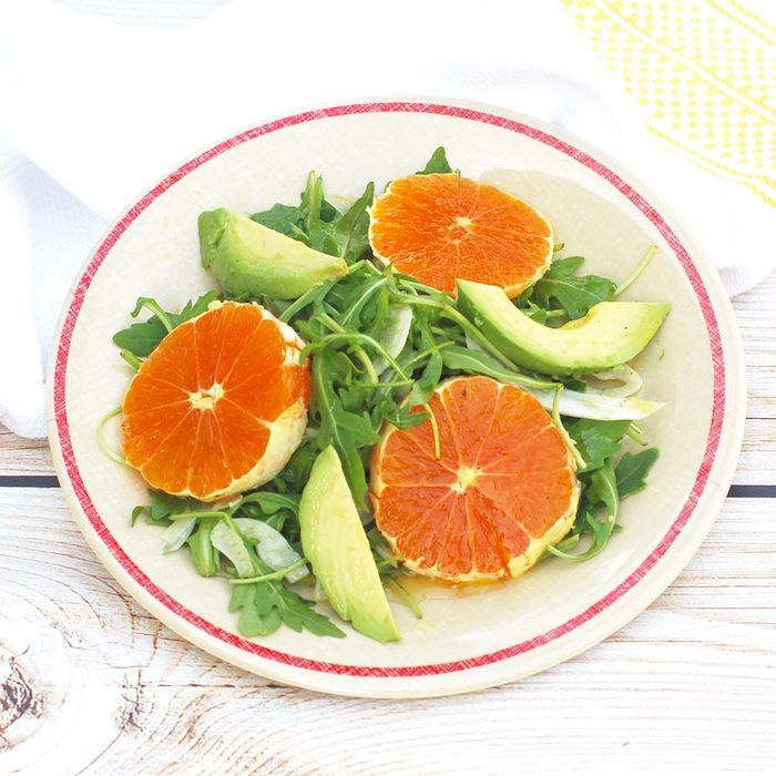 Citrus Fennel Salad with Champagne-Lemon Vinaigrette | Jessica Levinson, MS, RDN, CDN