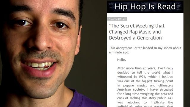 The real hidden truth about the conspiracy to destroy hip-hop.Anonymous Letters, Destroyer Hip Hop, Secret, Conspiracy Theory, Hip Hop Blogospher, Assorted Geekery, Hop Aka, Letters Entitlement, Hidden Truths