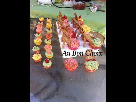 Création des ateliers cupcakes