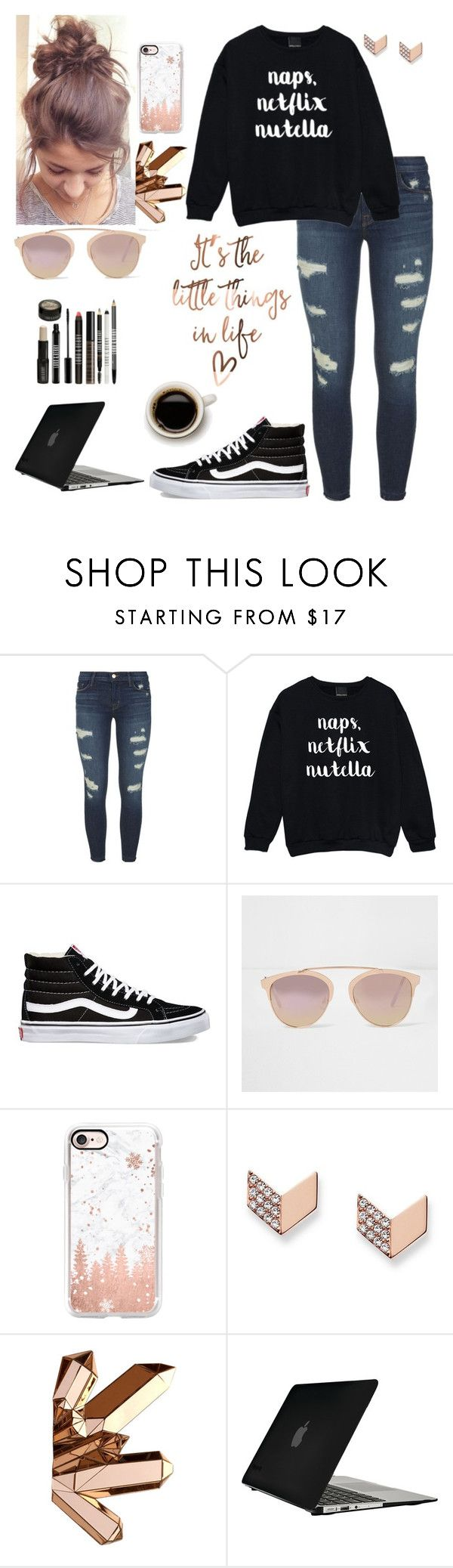 """""""Mmm I could go for some pizza right about now!!"""" by lillyd26 ❤ liked on Polyvore featuring J Brand, Vans, River Island, Casetify, FOSSIL, Speck and Lord & Berry"""