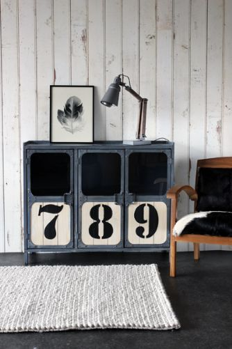 Light Industrial 789 Sideboard Cabinet